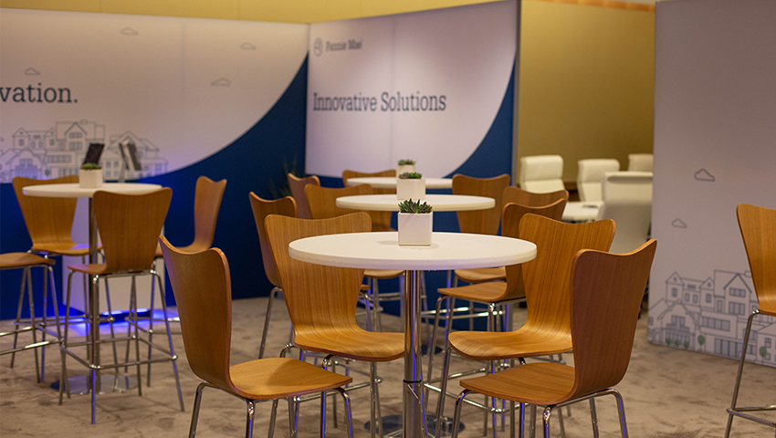 Fannie Mae events booth