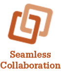 Seamless Collaboration Icon for Loan Quality Connect (LQC)
