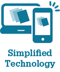 Simplified Technology Icon for Loan Quality Connect (LQC)