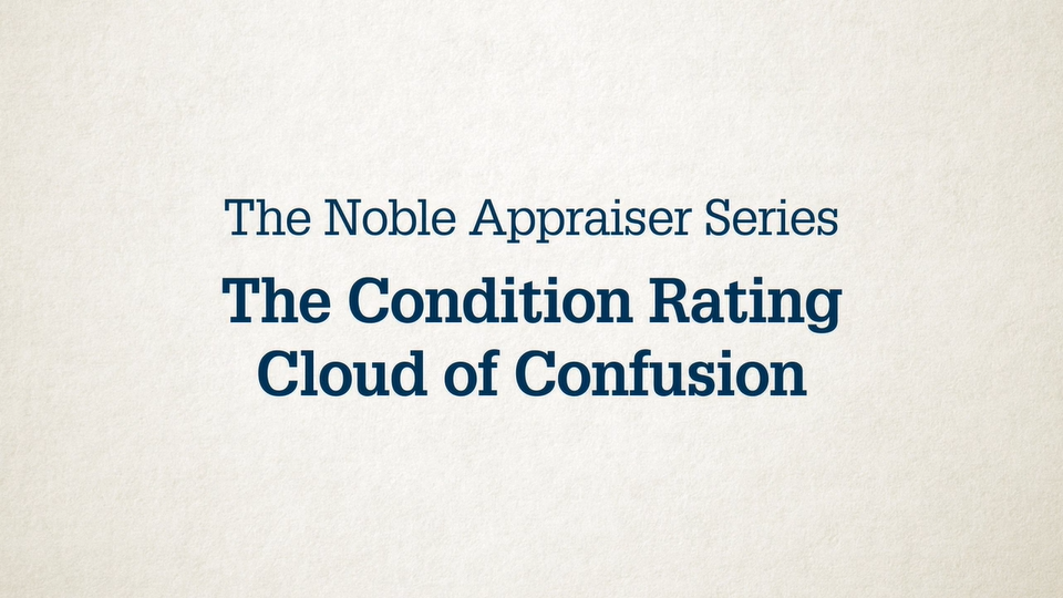 appraisers condition rating video image